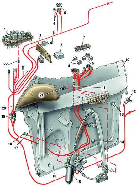 3 – термопредохранитель (20 А)