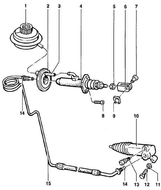 1. Резервуар рабочей жидкости