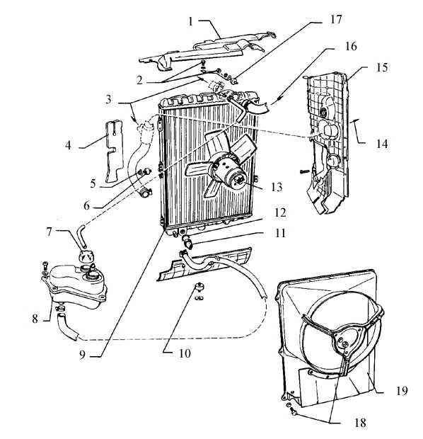 Накладка радиатора, верхняя