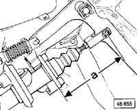 замена главного цилиндра сцепления audi a6 c4