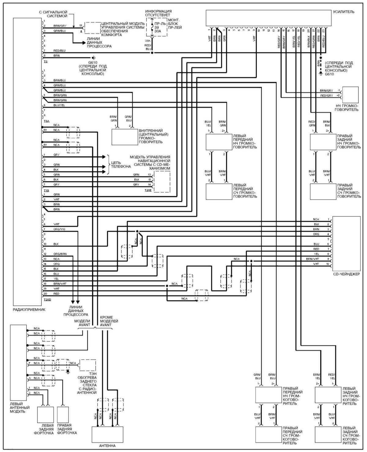 Схема двигателя ауди а4 б5