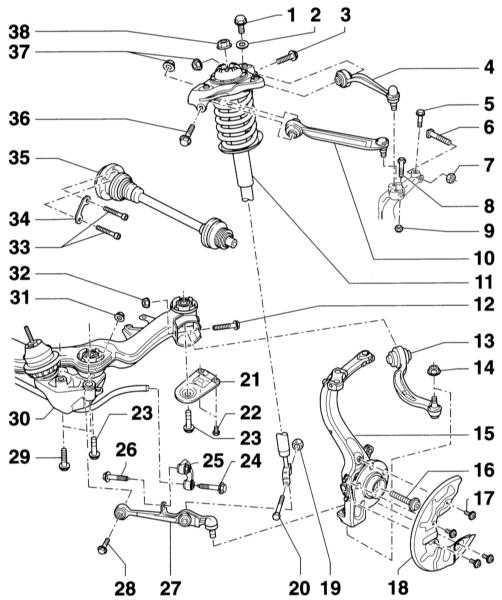 4 — Рычаг подвески верхний