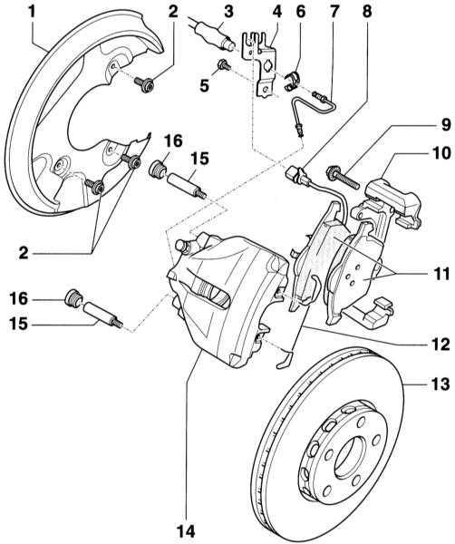 ford fiesta 97 устройства тормозные колодки