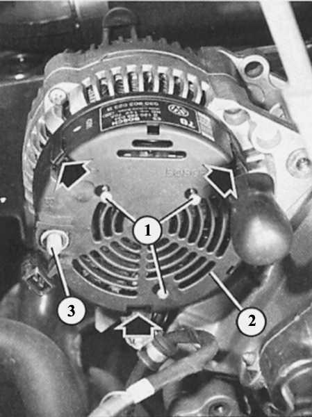 (2) генератора фирмы Bosch