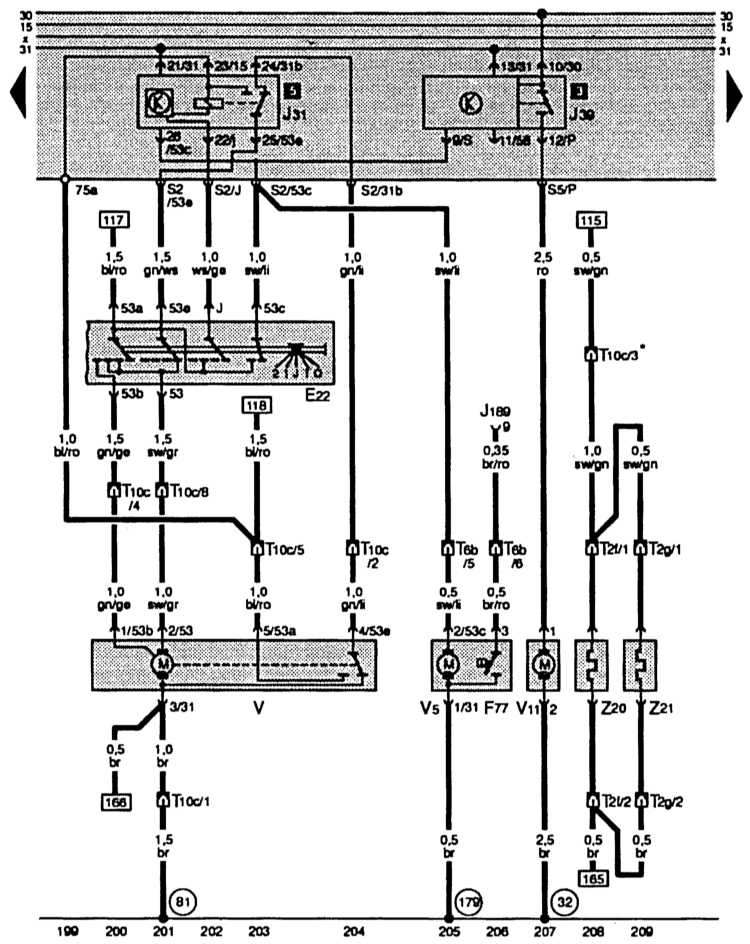 E22 – выключатель