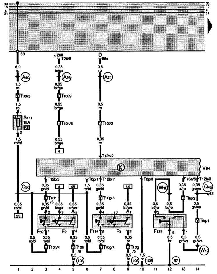 F59 – выключатель центрального