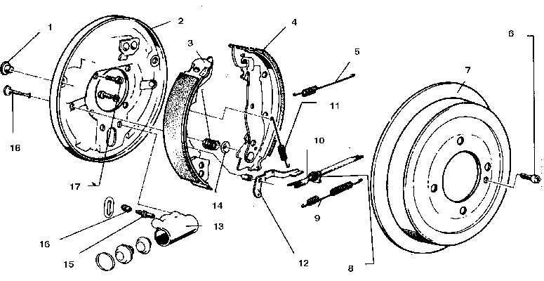 задний тормозной цилиндр bmw e30