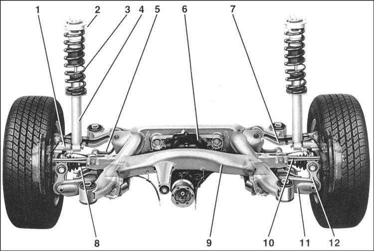 1 — кронштейн колеса