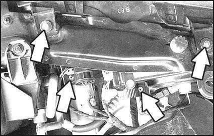 форд скорпио электрическая схема