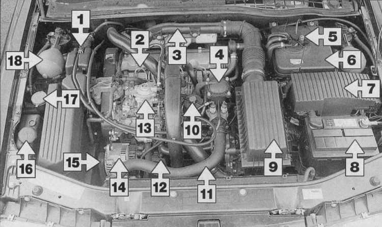 4 — Кожух топливного фильтра