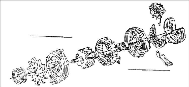 Монтажная схема генератора
