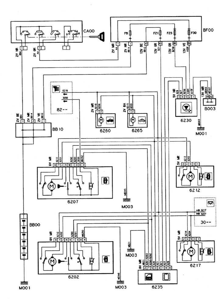 Schema Elettrico Xsara Picasso : Schema elettrico xsara break pas de préchauffage sur