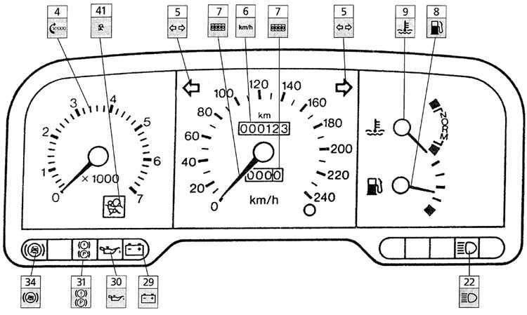 панель приборов митсубиси галант 1992 датчик топлива