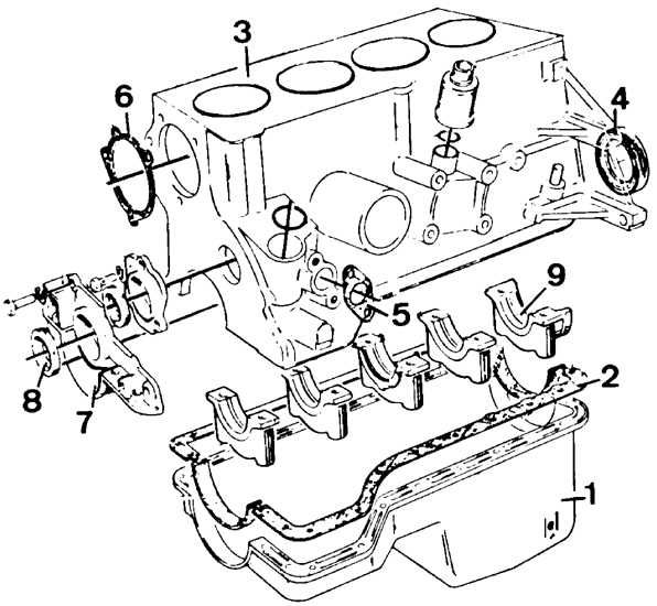 Схема двигателя форд сиерра фото 798