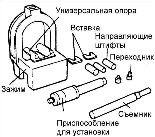 как запрессовать палец в поршень опель вектра