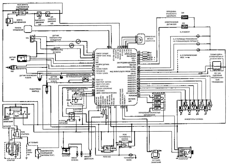 электрическая схема вакуумного насоса ауди 100