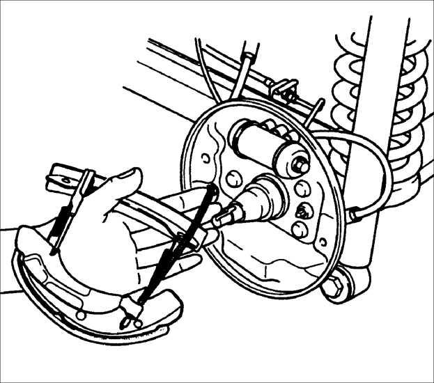как заменить тросик ручного тормоза на киа спектра