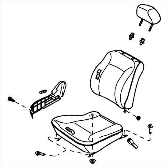 Как снять сидение в киа рио
