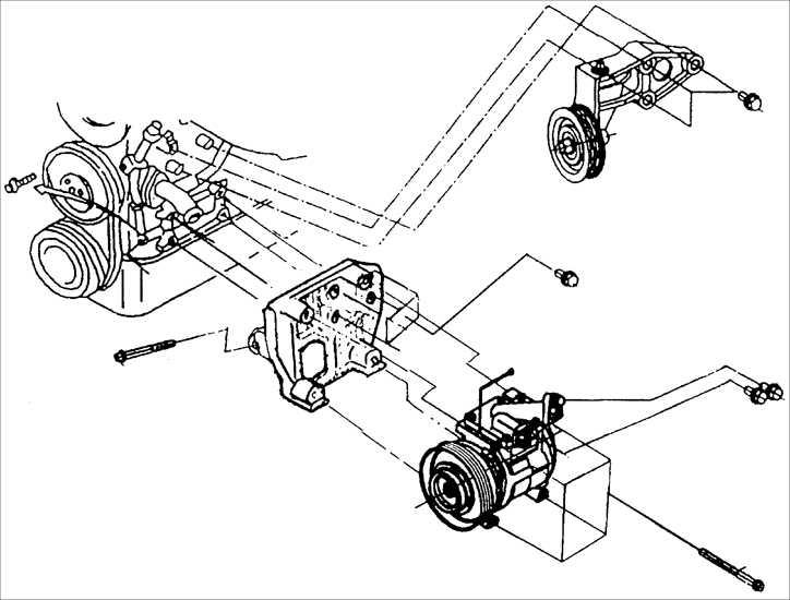 компрессор кондиционера киа спектра фото