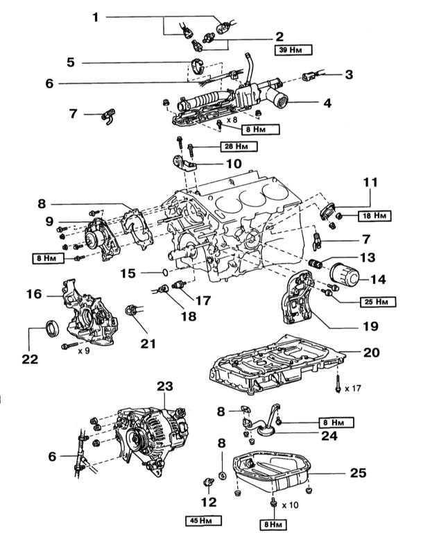 6 — Электропроводка двигателя