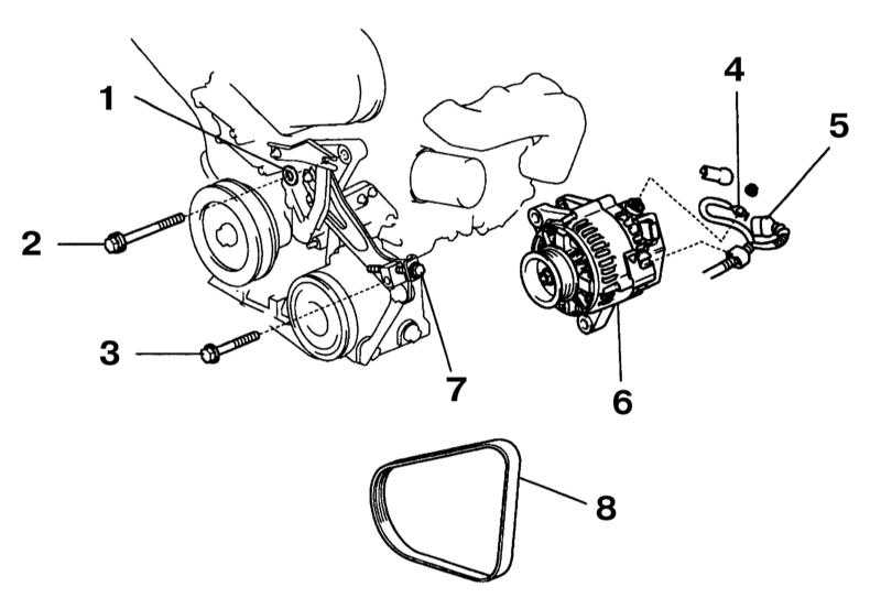 kia sportage как снять генератор