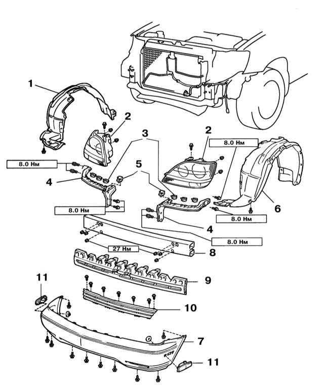 1 — Локер правой передней