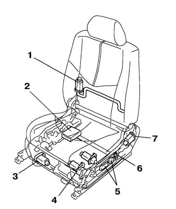 1 — Э/мотор поясничной опоры