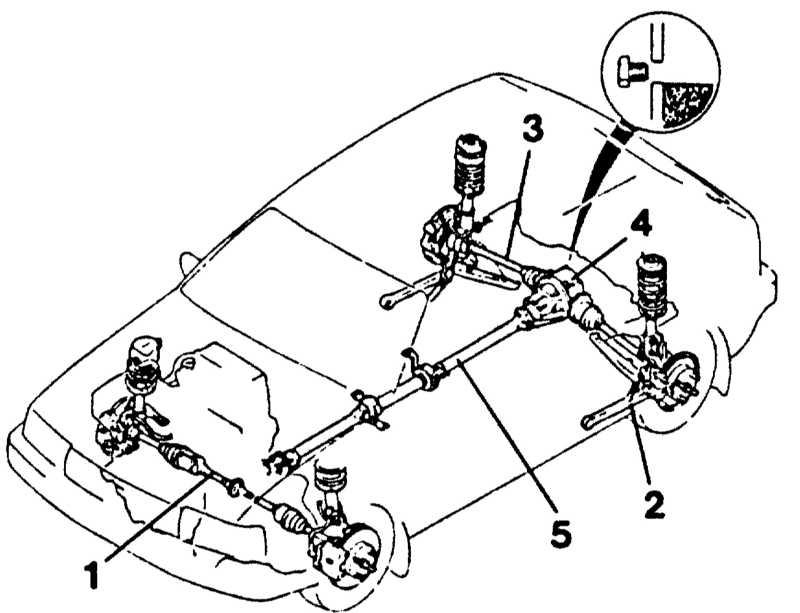 Для привода задних колес