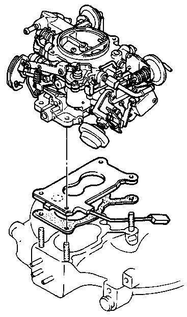 КонструкцияКарбюратор Aisan, устанавливаемый на автомобилях Mazda, является двухкамерным вертикальным карбюратором с...