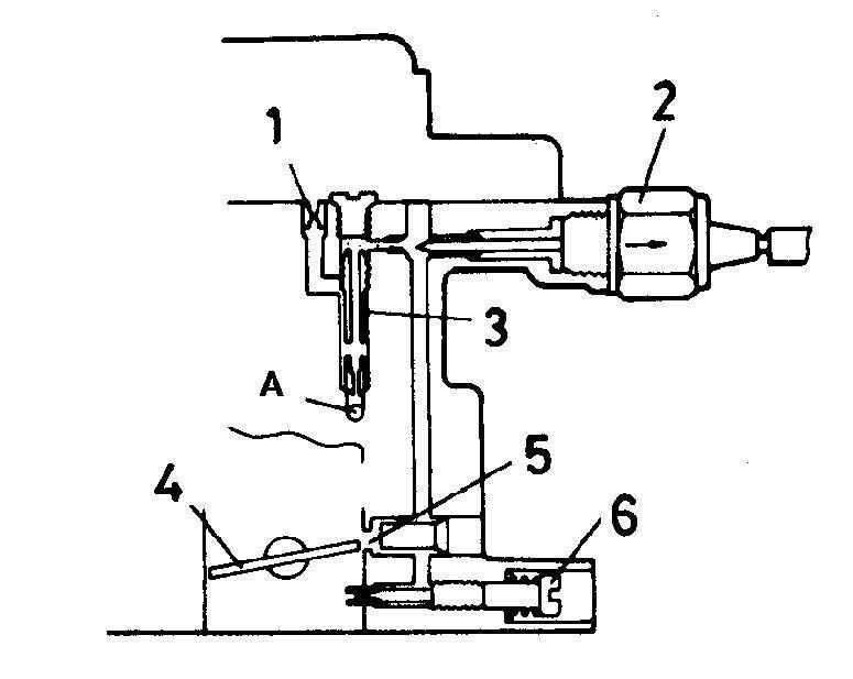 Топливный жиклер системы