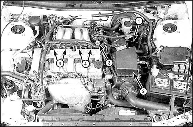 Система питания (двигатели 2,0