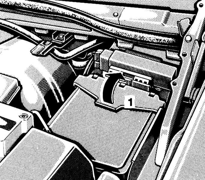 Электрические предохранители Мерседес W140.