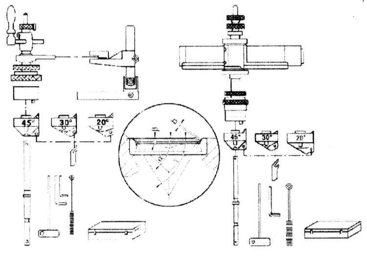 Детали установки седла клапана