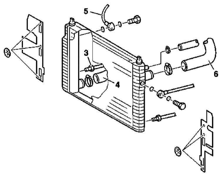система охлаждения двигателя мерседес 163