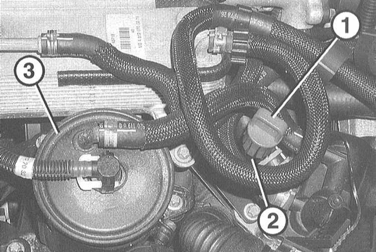 где находится сливная пробка охлаждающей жидкости мерседес w163