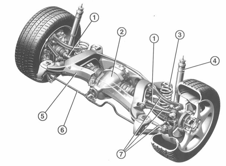 1 — Привод задних колёс