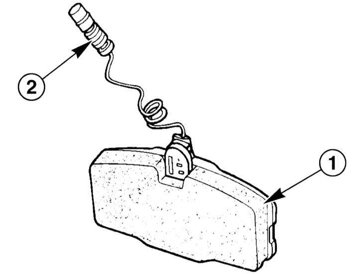 датчик износа колодок опель зафира 2004 год