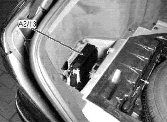 усилитель звука мерседес w210