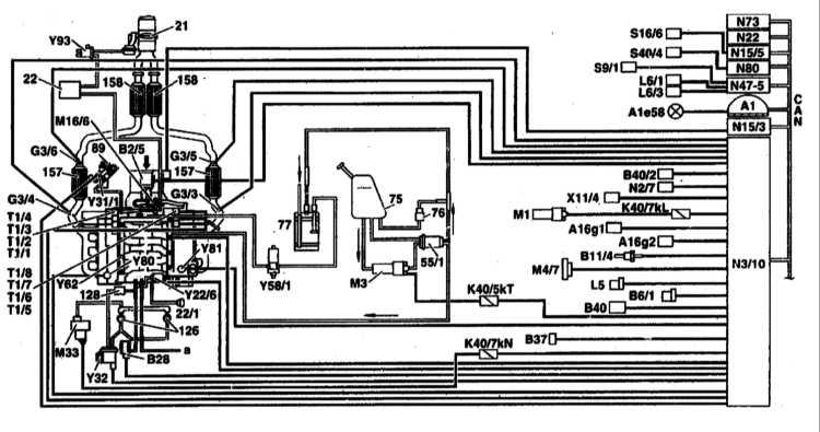 Показано на примере двигателя