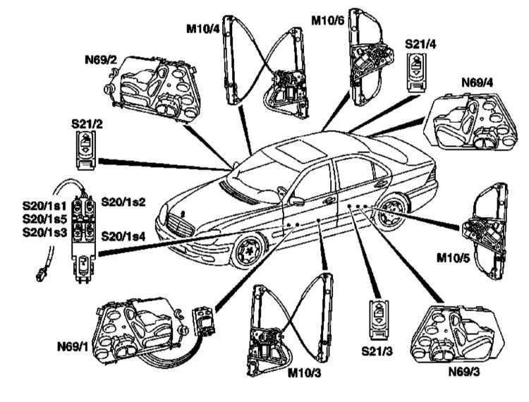 M10/3 — Мотор левого переднего