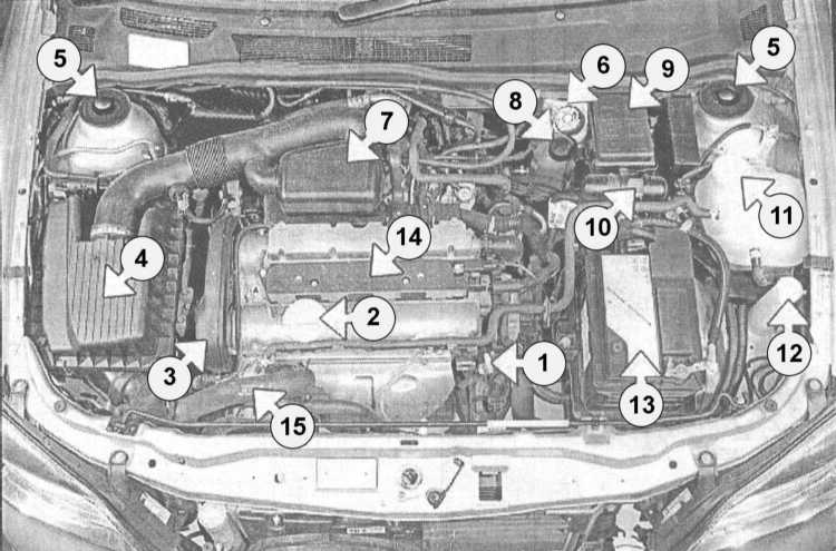 8 — Резервуар системы ГУР