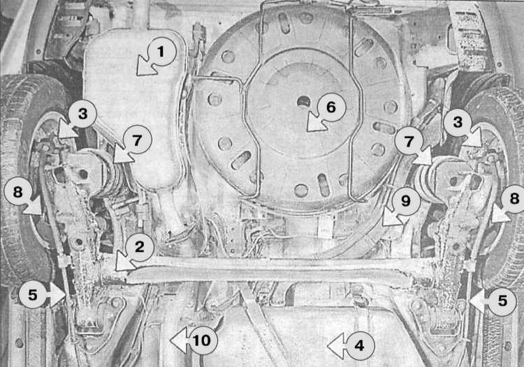 1 — Задняя секция системы