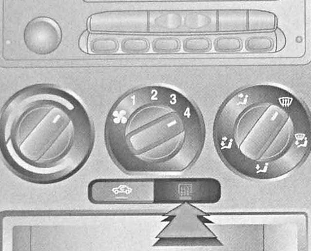 опель комбо 2008 контрольные лампы - индикаторы