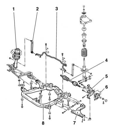 1 — Верхняя опора стойки