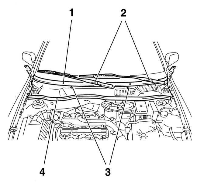 2 — Поводки стеклоочистителей