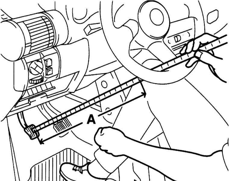как подтянуть сцепление на ford scorpio