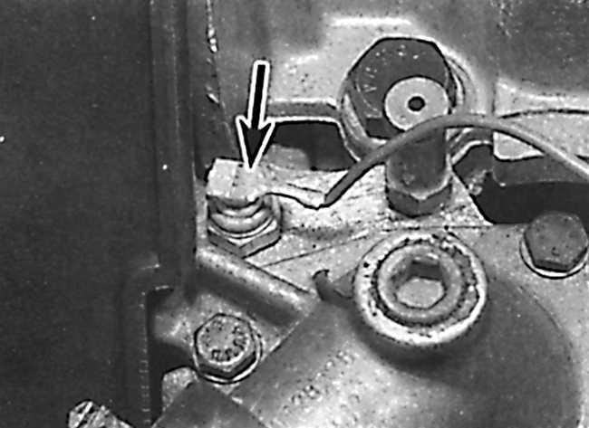 Снятие двигателя с коробкой