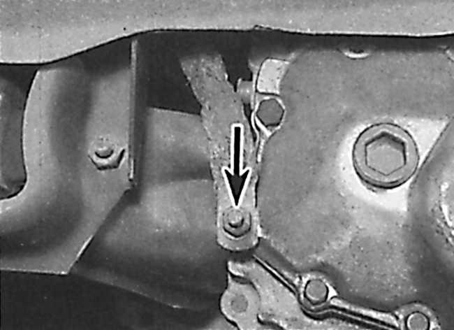 коробки передач (крепление