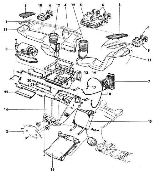 Схемы двигателей опель