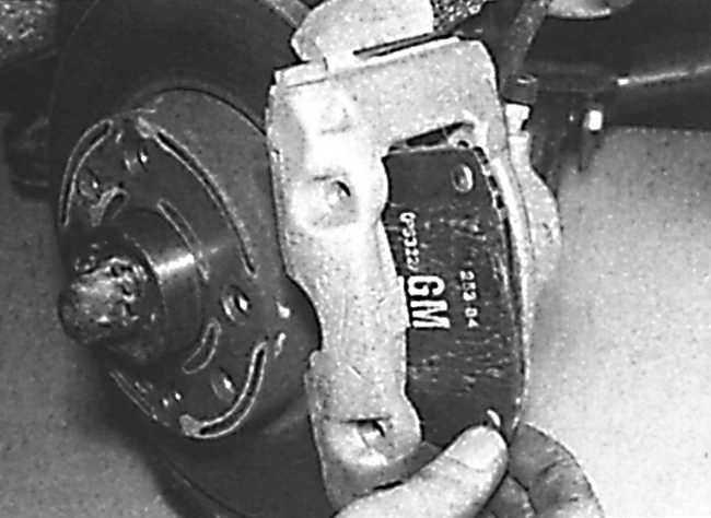ремонт задних тормозов на опель кадет